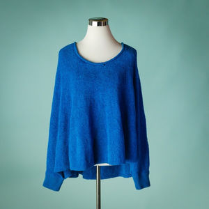 Anthro Moth XS/S Poncho Draped Pullover Sweater